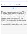 TRILLIUM REPORT 2009 [Abstract]