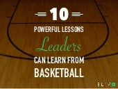 10 Powerful Lessons Leaders Can Learn From Basketball