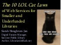 10 Lol Cat Laws Of Web Services For Smaller Underfunded Libraries