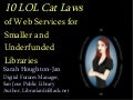 10 Lol Cat Laws Of Web Services For Smaller Underfunded Libraries   Il2009