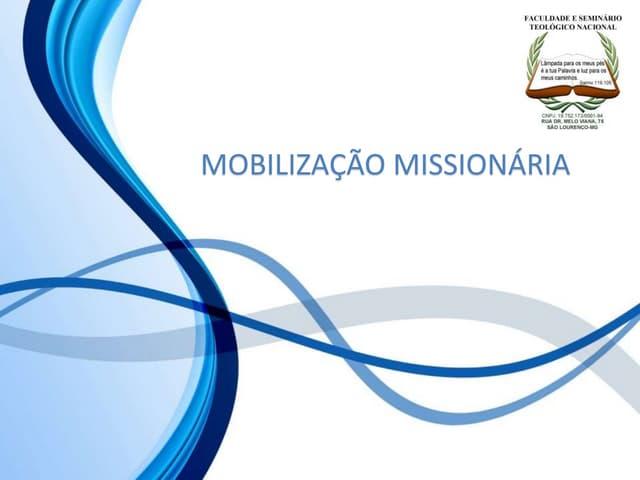 10 mobilização missionária