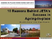 10 reasons behind JETA's Success in Ageing-in-Place