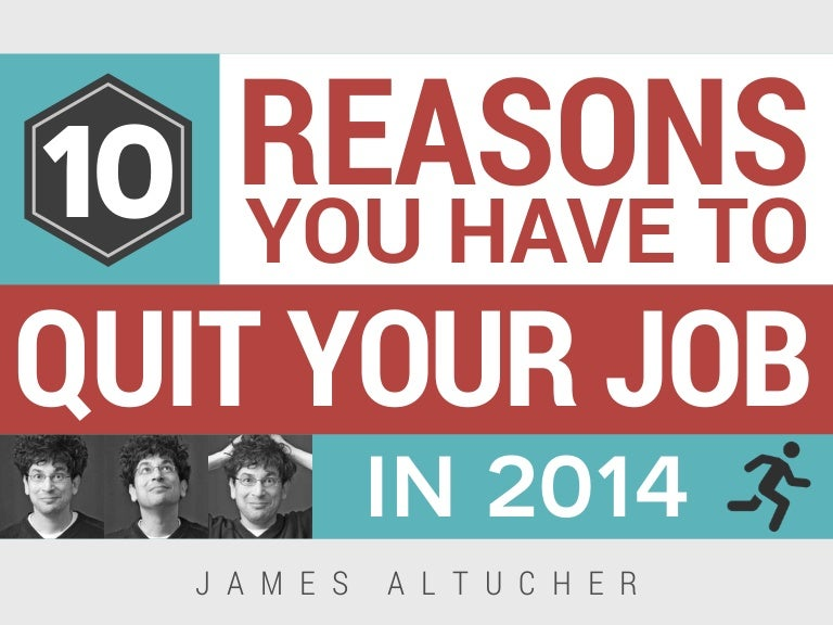 best reasons to leave a job