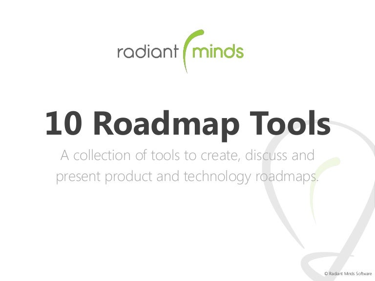 10 Tools to create impressive product roadmaps – Roadmap Tool