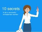 10 secrets to be a successful entrepreneur woman