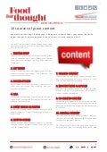 10 Sources of Great Content
