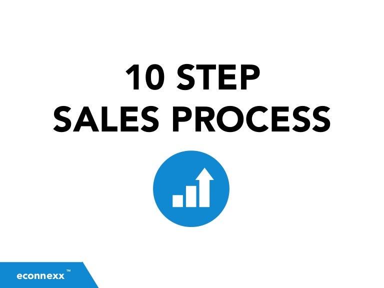 10 step sales process