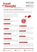 10 Steps to Email Marketing success