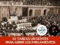 10 tareas para abrir parlamentos