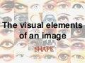 The visual elements of Art: SHAPE