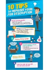 10 Tips To Improve Your Job Description