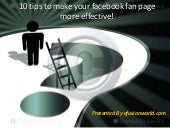 10 tips to make your facebook fan page