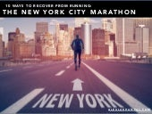 10 Tips to Recover from the NYC Marathon