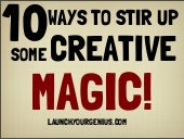 10 ways to stir up some creative magic!