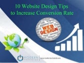 10 Web Design tips to Increase Conversion Rate