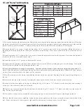 10 x 30 Frame Tent Installation Instructions