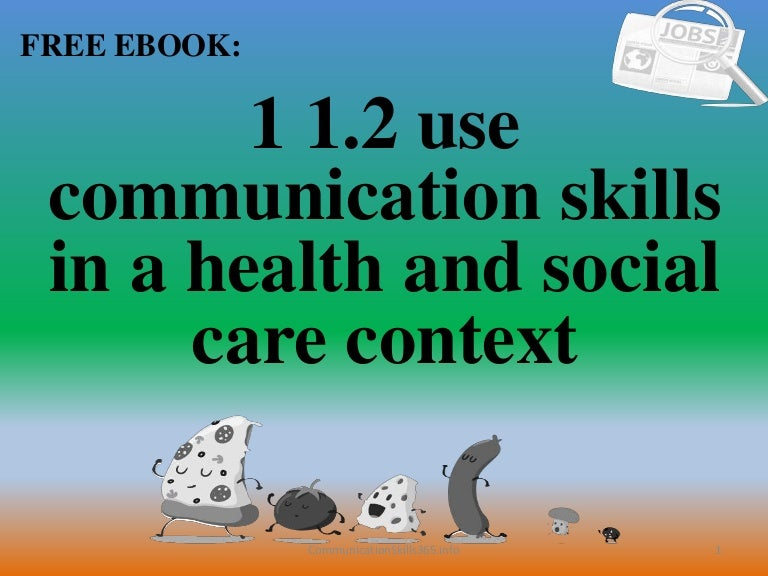 Communication skills in social work pdf