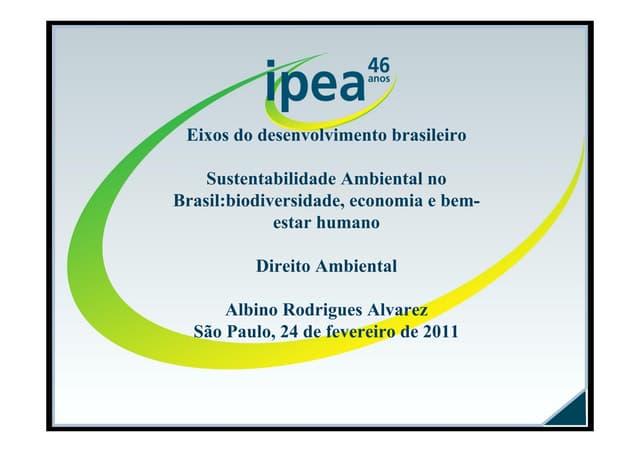 Ipea - Direito Ambiental