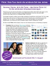 Flickr Urlaubs-Guide