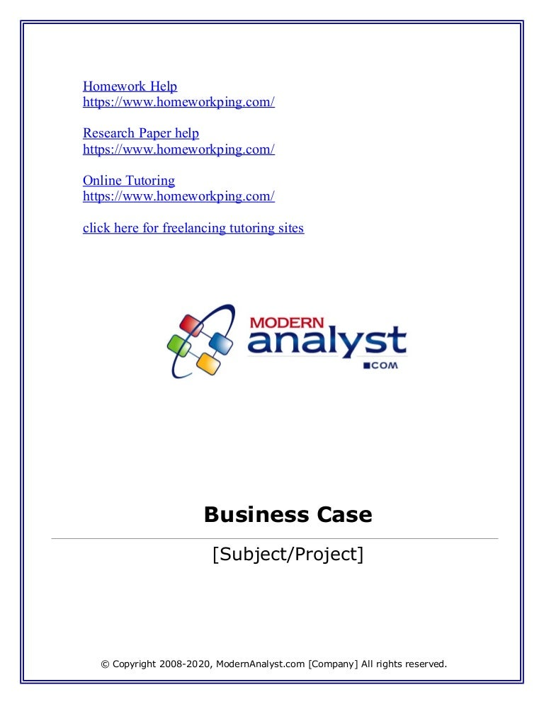 110776834 Business-Case-Template