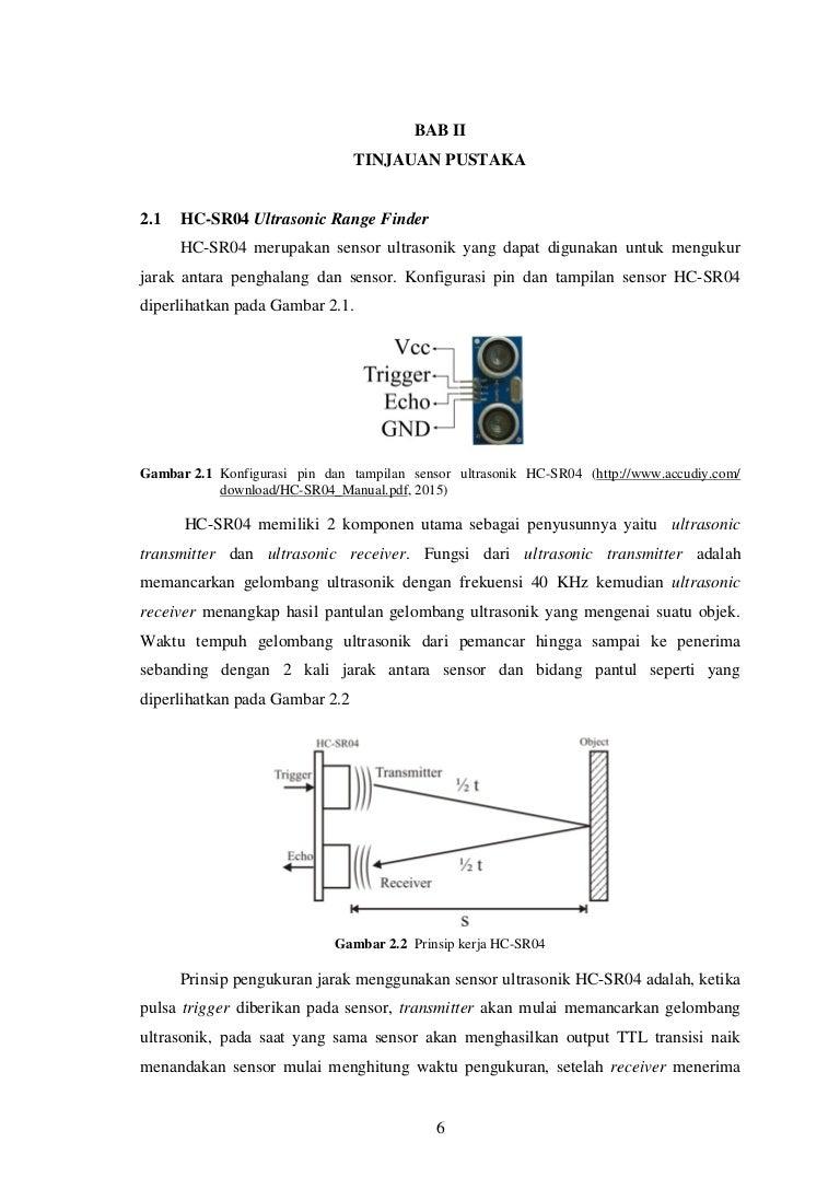 Sensor Jarak Hc Sr04 Datasheet