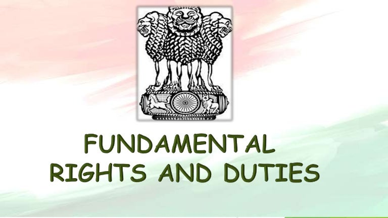 fundamental duties and rights
