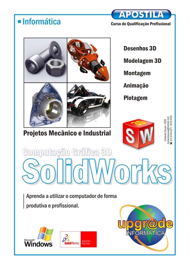 112131953 Apostila Solidworks 2009 Segue Abaixo O Desenho Do Circuito Se Voc Quiser Montar Seu