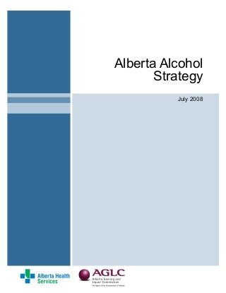 Alberta Alcohol Strategy