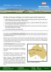 Mithril Resources announces the maiden drilling program at the Illogwa Iron Oxide Copper Gold (IOCG) Target Area has commenced, following successful completion of heritage clearance surveys.