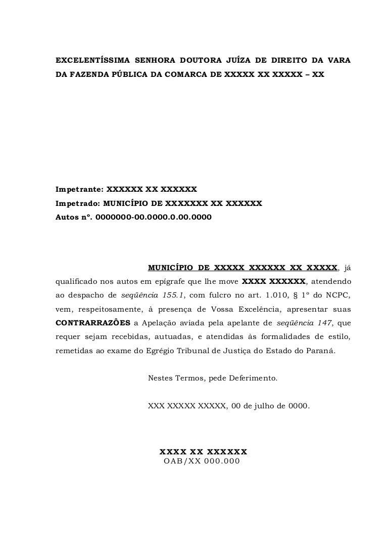 1157 Contrarrazões Apelação