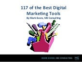 117 of the Leading Digital Marketing Tools