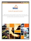 shaw group  conduct09/08