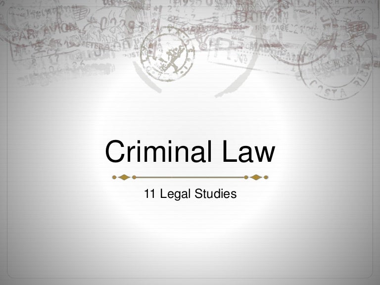 legal studies assessment law to punish 2009 hsc legal studies sample answers this document contains 'sample answers', or, in the case of some questions, 'answer may include' these are developed by the examination committee for.