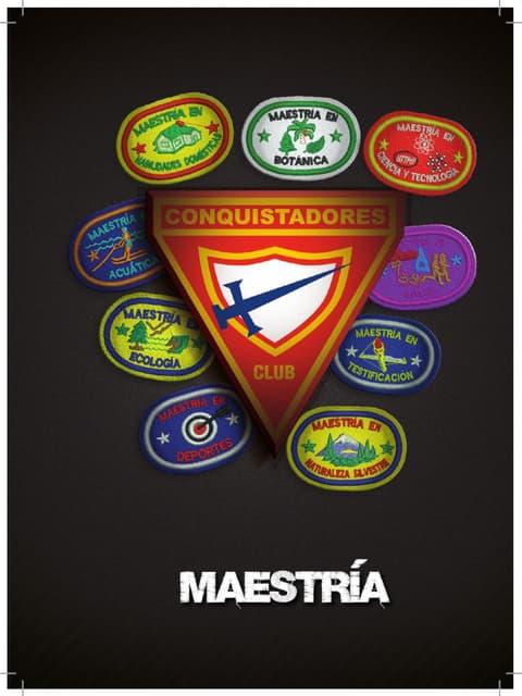 11 Maestrias   Club de Conquistadores