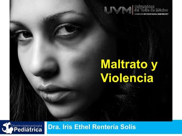 UVM Emergencias Médicas Básicas Sesión 11 Maltrato y Violencia
