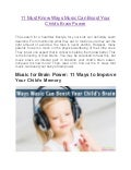 11 must know ways music can boost your child