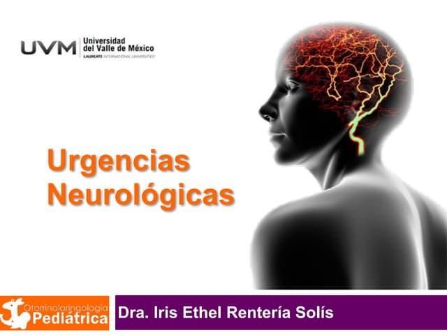 UVM Emergencias Médicas Básicas Sesión 11 Urgencias Neurológicas