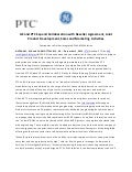 GE and PTC Expand Collaboration with Reseller Agreement, Joint Product Development, Sales and Marketing Activities