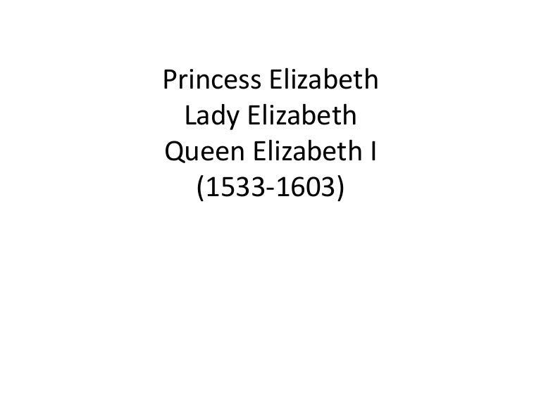 12 F2014 Young Elizabeth