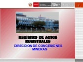 Registro de Actos Registrales