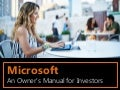 Microsoft: An Owner's Manual for Investors