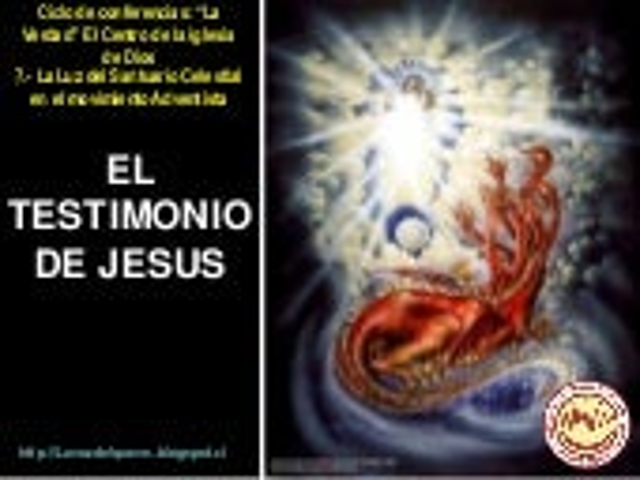12.  El testimonio de Jesus
