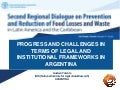 Progress and Challenges in Terms of Legal and Institutional Frameworks in Argentina