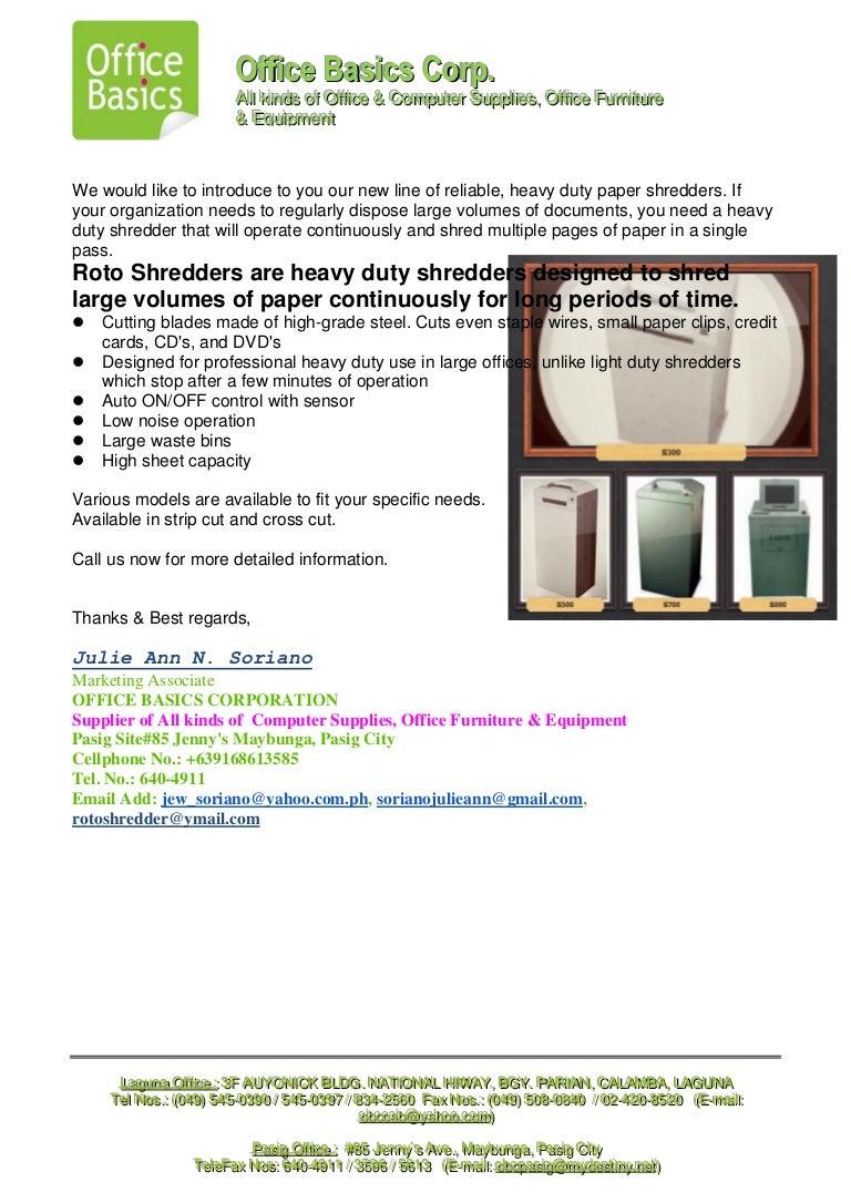 Roto heavy duty shredder ccuart Gallery
