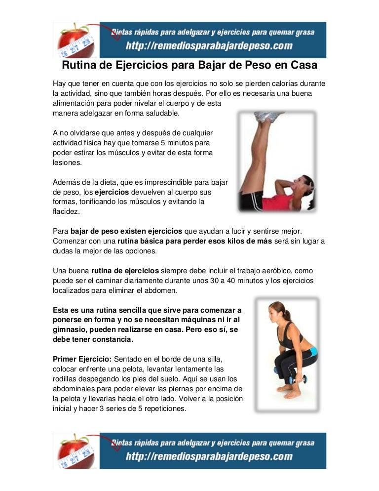 ejercicios para bajar de peso sentada