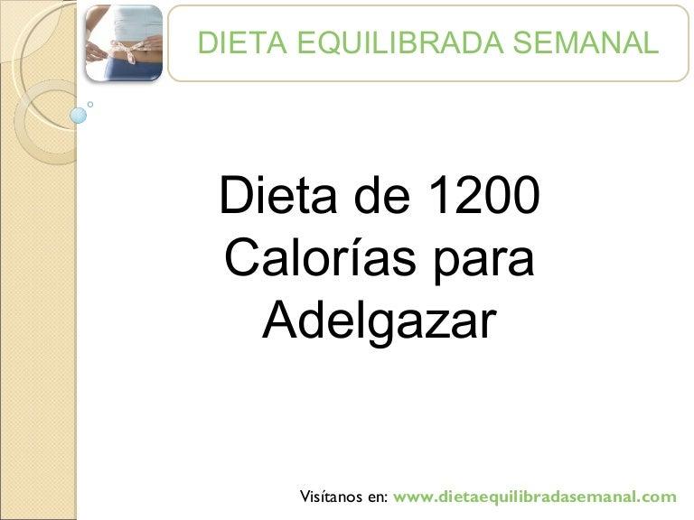 dieta equilibrada 1200 calorias