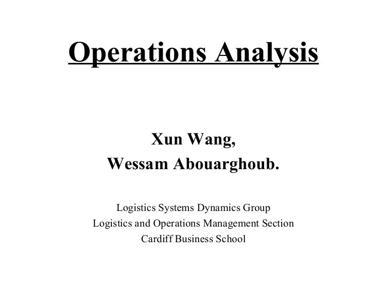 Operation analysis process mapping malvernweather Image collections