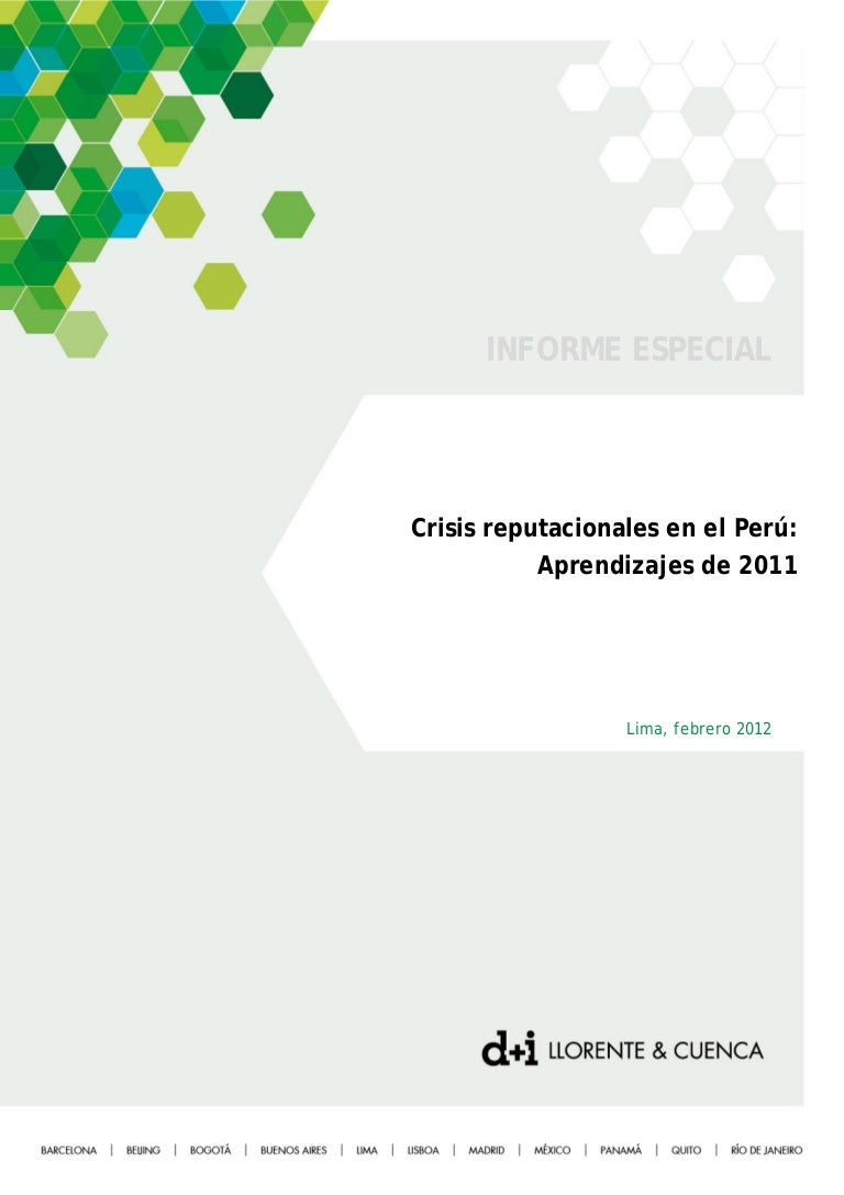 Crisis reputacionales en Perú 2011