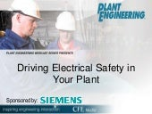Driving Electrical Safety in Your Plant