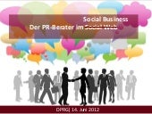 Der PR-Berater im Social Business